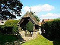 St Peter ad Vincula lych gate, Broad Hinton - geograph.org.uk - 552875.jpg