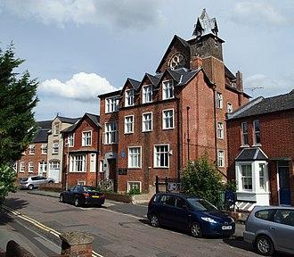 St Stephen's House, Oxford - St Stephen's House (Benson building) from Marston Street.