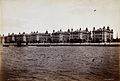 St Thomas's Hospital seen from across the Thames. Photograph Wellcome V0029736.jpg