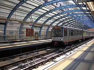 Brin (Genoa Metro) - Image: Stacja metra Brin w Genui