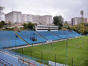 Stadionul Cotroceni - Image: Stadium Cotroceni Progresul Bucharest 2