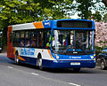Stagecoach in Fife bus 22350 (SV55 CCX) 2005 MAN 18.220 Alexander Dennis ALX300, Kinross, 3 May 2011.jpg