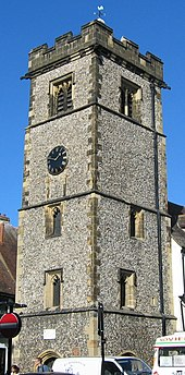 The early 15th century Clock Tower
