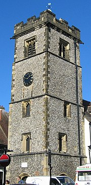 The 15th century Clock Tower
