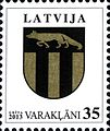 Stamps of Latvia, 2013-01.jpg