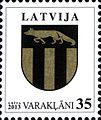 Stamps of Latvia, 2013-01.jpg