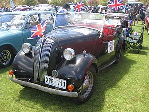 Standard Eight - Standard 8hp Tourer of 1947