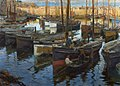 Stanhope Forbes - The Safe Anchorage 1909.jpg