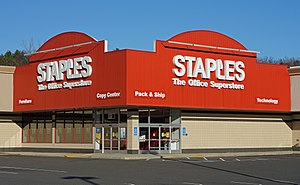 Staples Inc. - Staples store Rt.1, Saugus, Massachusetts
