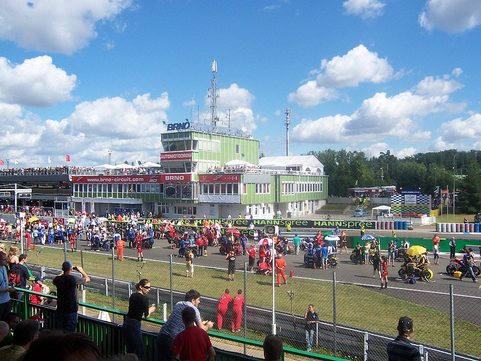 Start Superbike Weltmeisterschaft 2008 Brno