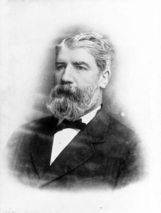 Castlemaine Perkins - Brewer and politician Patrick Perkins, 1879