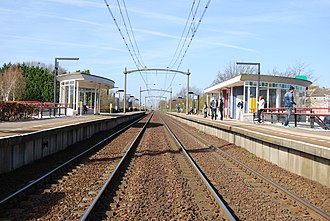 Helmond 't Hout railway station - Image: Station Helmond 't Hout