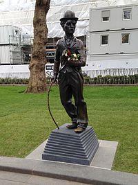Statue of Charlie Chaplin, London