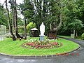 Statue of Christ at Kylemore Castle - panoramio.jpg