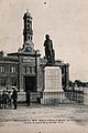 Statue of Edward Jenner in Boulogne-sur-Mer, in front of the Wellcome V0018801EL.jpg