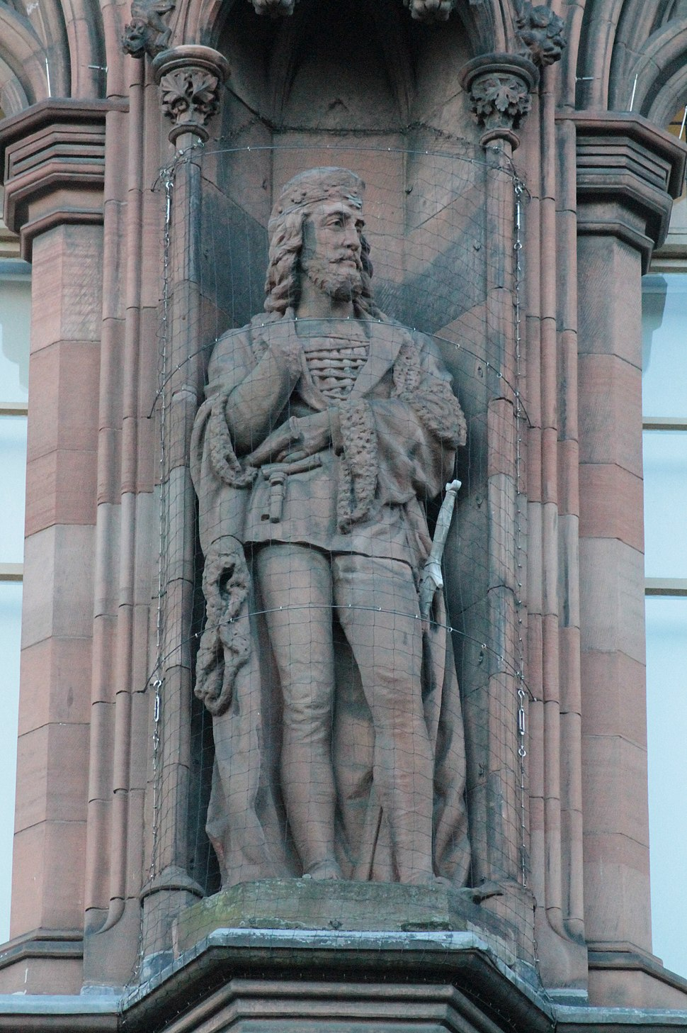 Statue of King James I, Scottish National Portrait Gallery