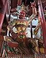 Statue of Virupaksa (廣目天王 or 广目天王; Guangmu Tianwang), one of the Four Heavenly Kings (四大天王), in the Hall of The Four Heavenly Kings (天王殿) of Qita Temple (七塔寺) in Yingzhou, Ningbo, China.jpg
