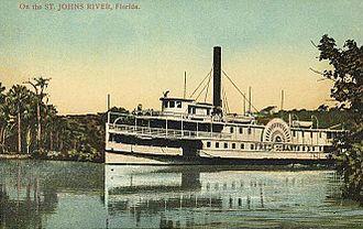 DeBary, Florida - S.S. Frederick DeBary in 1910
