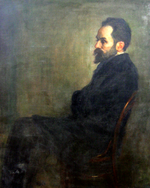 Stefan Żeromski - Niewiadomski's 1900 portrait of Żeromski