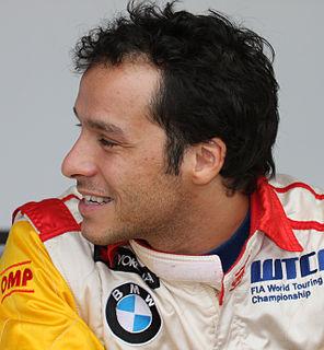 Stefano DAste Iialian racecar driver