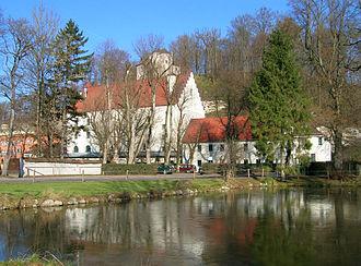 Stein Castle (Bavaria) - The castle site in Stein an der Traun