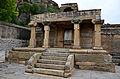 Steps and porch leading to the Akkana Basadi complex.jpg