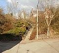 Steps from Taverner Trading Estate to Station Road, Caerleon - geograph.org.uk - 1754183.jpg