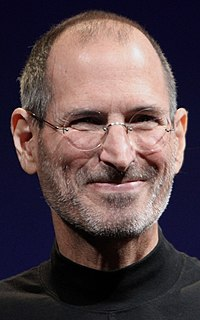 Steve Jobs American entrepreneur and co-founder of Apple Inc.