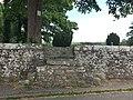 Stile in graveyard wall, Ellel.jpg