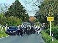 Stocklarn - Schützenverein Berwicke-Stocklarn-Hacheney am 6. Mai 2016 auf dem Weg nach Berwicke - panoramio.jpg