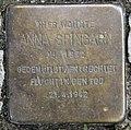 Stolperstein Deidesheimer Str 9 (Wilmd) Anna Spingarn.jpg
