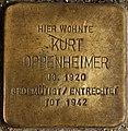 Stolperstein Göppingen, Kurt Oppenheimer.jpg