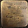 Stolperstein Göppingen, Marianne Schwab.jpg