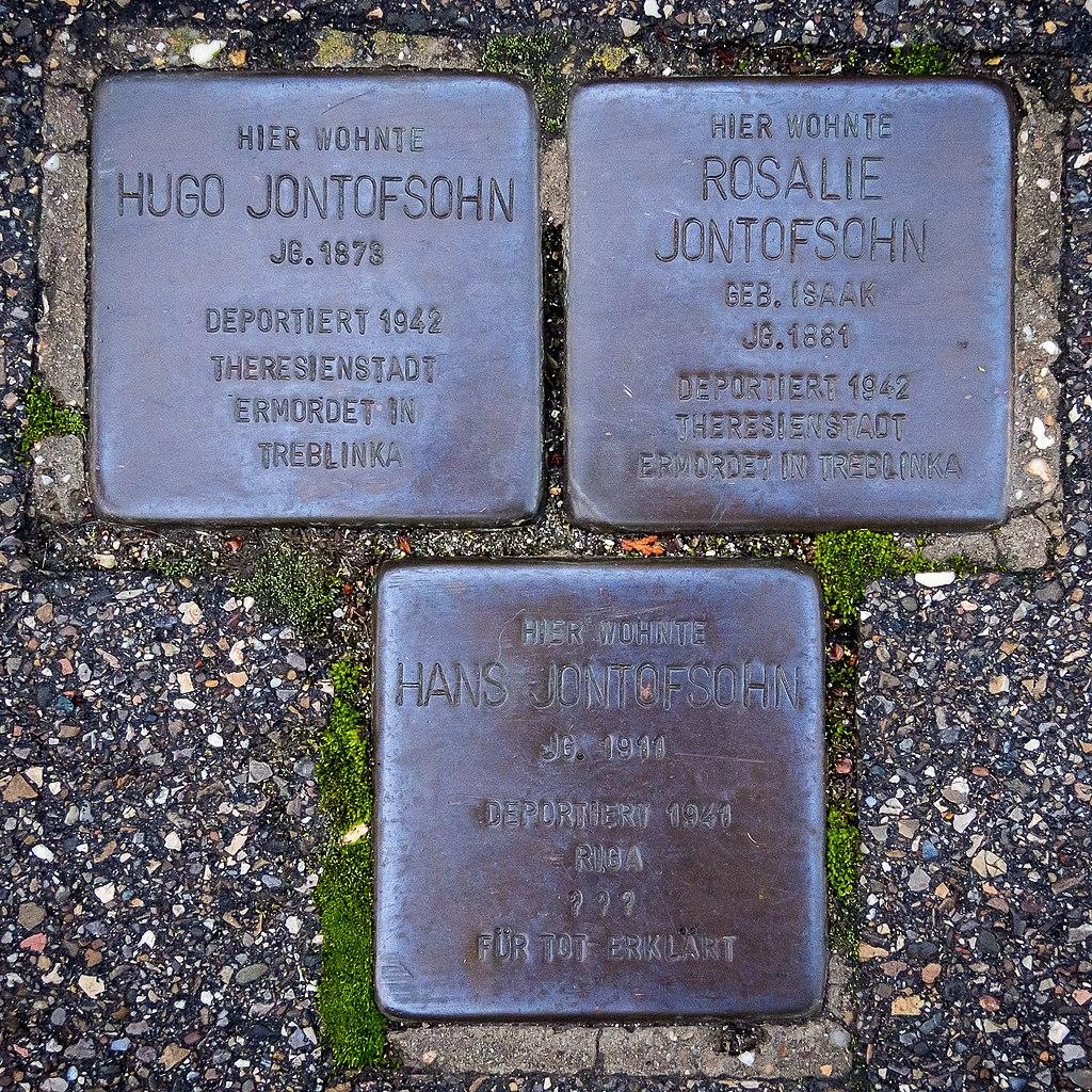 Stolperstein Hans Hugo Rosalie Jontofsohn Am Jagdschloessle 31 89520 Heidenheim 2.jpg