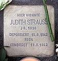 Stolperstein Helmstedter Str 29 (Wilmd) Judith Strauss.jpg