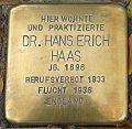 Stolperstein Köln Riehler Straße 13 Dr Hans Erich Haas.jpg