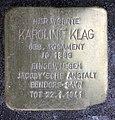 Stolperstein Krefelder Str 7 (Moabi) Karoline Klag.jpg