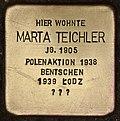 Stolperstein für Marta Teichler (Cottbus).jpg