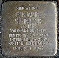 Stolperstein for Benjamin Steinbock (Thieboldsgasse 6)