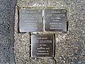 Stolpersteins Jakob Goldstein, Julie Goldstein, Else Goldstein, Burgbenden 4, Bornheim.jpg