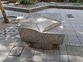 Stone object, Nagymező street, 2018 Terézváros.jpg