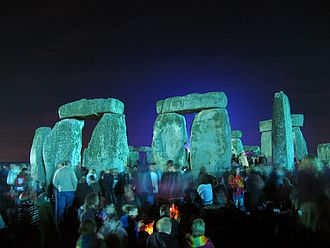 Community - A community of interest gathers at Stonehenge, England, for the summer solstice.