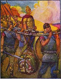 Stories of beowulf head of grendel