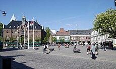 Stortorget mit dem Rathaus rechter Hand