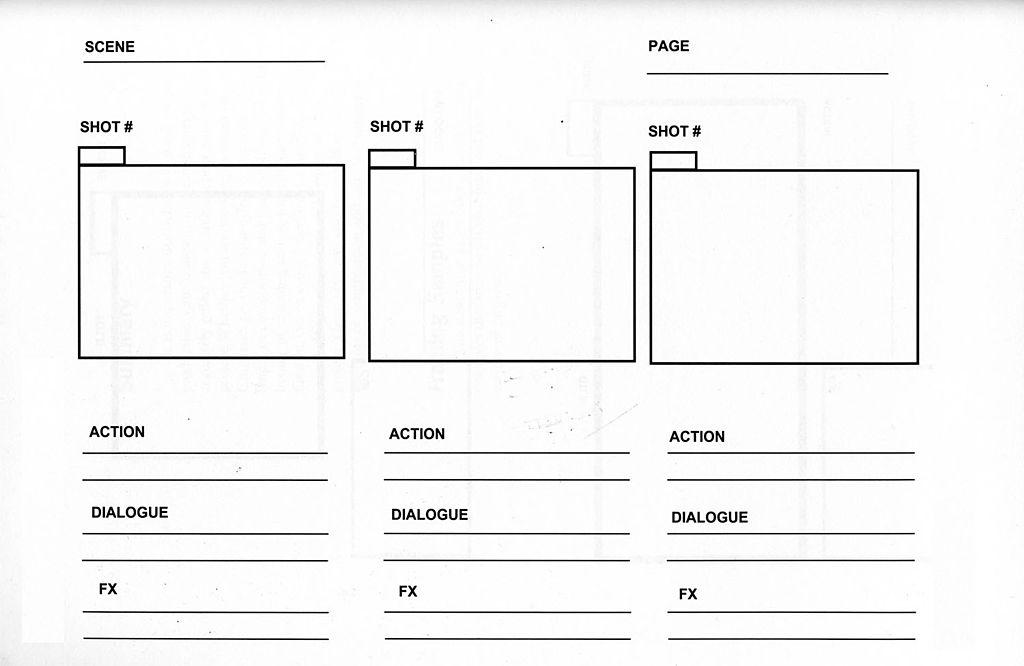 File storyboard wikimedia commons for Film storyboard template word