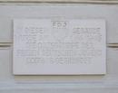 Gedenktafel der Freien Deutschen Jugend (FDJ)