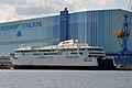 Stralsund, Volkswerft, Fährschiff Berlin (2013-07-30) 2, by Klugschnacker in Wikipedia.JPG