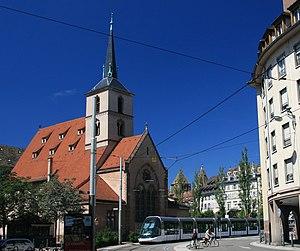 Albert Schweitzer - Saint-Nicolas, Strasbourg