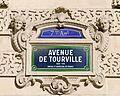 Street sign avenue de Tourville Paris.jpg