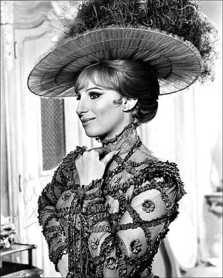 in Hello, Dolly! (1969) Streisand - Dolly signed.jpg